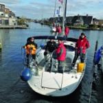 Hafenmanöver mit Segelyachten - 2021